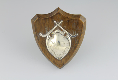 Trophy, Mataura Hockey Club; unknown maker; 1960s; MT2012.117.3