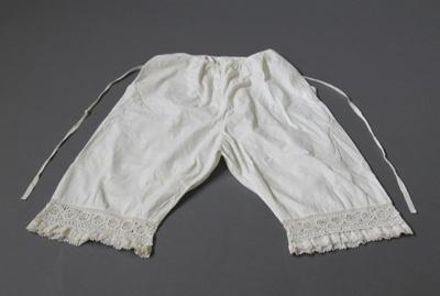 Knickers; unknown maker; 1870-1920; MT1993.10.2