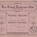 Book; Mataura Band of Hope, Junior Boys, Pledge Record ; Band Of Hope, Wright & Carman; 1925-1939; MT2012.90.4