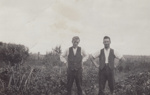 Photograph [Two Men Standing Outdoors]; unknown photographer; 1920s; MT2011.185.274