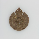 Badge, Royal Engineers, British Army; Stanley, A. and Sons; 1939-1945; MT2015.21.10
