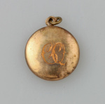 Locket, [Clara Quilter]; unknown maker; 1940; MT2015.20.76