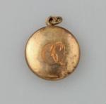 Locket, [Clara Quilter]; unknown maker; 1940; MT2015.20.76