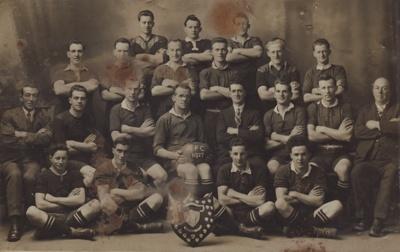 A black and white photograph taken of a Mataura Ru...