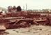 Photograph [Old Wooden Sheep Yards, Mataura Freezing Works]; Green,Trevor; 26.08.1982; MT2013.3.65