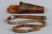 Butcher's scabbard and belt; unknown maker; 1940-1950; MT2014.4.1