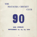 Booklet, 90th Jubilee, Mataura Cricket Club; Gore Publishing Company; 1976; MT2012.115.1