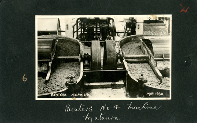 A black and white photograph of Beaters on the No ...