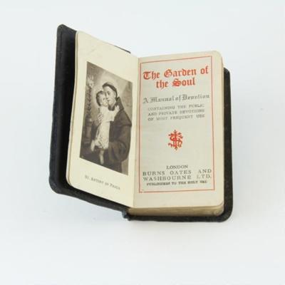 Prayer book; Thomas George Quilter's Catholic pray...