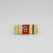 Ribbon bars, Africa Star [Hugh Brown McConnell]; New Zealand Government; 1945-1955; MT2015.21.6