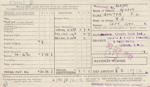 Pay Slips, British Army [Lieutenant Thomas George Quilter]; British Army; 1941-1943; MT2015.20.66