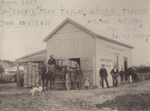 Photograph [Mataura Rabbit Factory]; Blackley, George; 1896-1900; MT2011.185.62