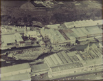 Photograph [Mataura Paper Mill and part of the Mataura Freezing Works aerial view]; Southland Aerial Photography; 1962-1976; MT2012.15.13