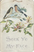 Prayer card; unknown maker; 1930-1960; MT2012.21.1