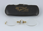 Spectacles, Pince nez [Adele Clearwater]; Dick, Peter; [?]; MT1993.54.3