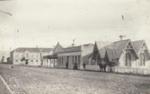 Photograph [Bridge Square, Mataura]; unknown photographer; 1912-1930; MT2011.185.118