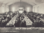 Photograph [Mataura Dairy Factory employees and families attending a semi-formal luncheon]; Mora Studio, The (Gore); 1890-1910; MT2011.185.86