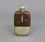 Hip Flask; unknown maker; 1922; MT1996.141.5