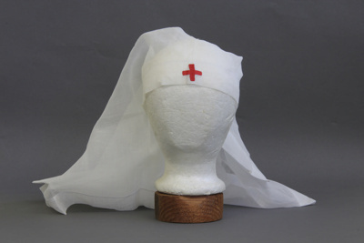 Veil, Red Cross; unknown maker; [?]; MT1998.154.5
