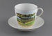 Cup and Saucer, Mataura Flood 1913; Victoria, Schmidt & Co; after 1918; MT2011.181
