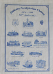 Tea towel, Mataura Presbyterian Church; unknown maker; 1999; MT2012.27.7