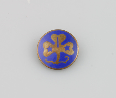 Badge; Girl Guides International Badge which belon...