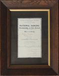 Certificate, William Martin; unknown maker; 1926; MT2012.4.4