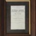Certificate, William Martin; unknown maker; 1926; MT2012.4.4
