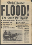 Newspaper, Clutha Leader, Special Edition: 1978 Floods; The Clutha Leader; 1978 October; MT2012.14.8