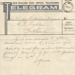 Telegram, Ministry of Defence to Thomas George Quilter; New Zealand Government; 03.02.1940; MT2015.20.8