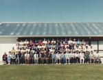Photograph [Mataura Cricket Club members, centenary 1986]; unknown photographer; 01.11.1986; MT2011.185.302