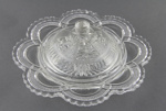 Glass Dish and Dome Cover; unknown maker; [?]; MT1993.78.5
