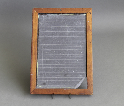 Slate, school ; unknown maker; 1890-1900; MT2012.96.3