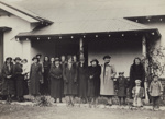 Photograph [The Birchwood Hunt Club, Mataura Branch, women]; c.1936; MT2011.185.312
