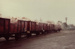 Photograph [Wagons of Smoke Damaged Meat, Mataura Freezing Works]; Green,Trevor; 30.04.1982; MT2013.3.20