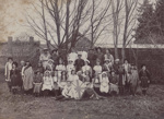 Photograph [Children Wearing Multi-Cultural Costumes]; unknown photographer; 1910-1920 ; MT2011.185.261
