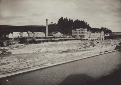 Photograph, 3 of 16, Mataura Paper Mill Album [North End of the Mill]; unknown photographer; 1925-1926; MT2012.137.3