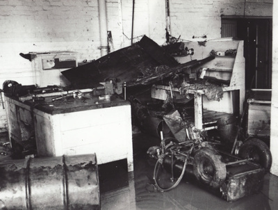 Photograph [Flood, Mataura Paper Mill, 1978] ; McDonald, Keith (Mr); 15.10.1978; MT2011.185.191