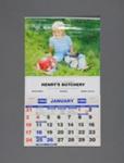 Calendar, Henry's Butchery, Mataura; Tanner Couch; 1993; MT2012.111.3