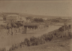 Photograph [Suspension Bridge, Mataura]; unknown photographer; 1890-1900; MT2011.185.145