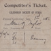 Ticket [Nan Taylor's dance competitor's ticket] ; unknown maker; 1912; MT2011.185.235
