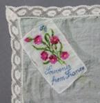 Handkerchief, World War One Souvenir; unknown maker; 1914-1918; MT2012.33.5