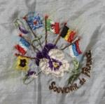 Handkerchief, World War One Souvenir; unknown maker; 1914-1918; MT2012.33.2