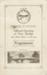 Programme, Mataura Bridge official opening, 1939; Mataura Borough Council; 1939; MT2012.14.1
