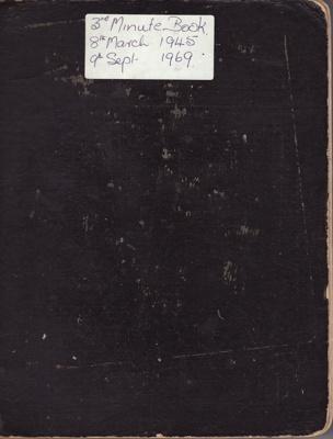 Minute Book; Red Cross, Mataura Sub-Branch. 3rd bo...
