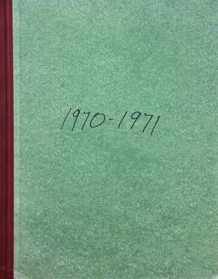 Rates Book, 1970 to 1971; Mataura Borough Council; 1970-1971; MT2000.166.2.11