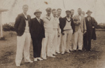 Photograph [Mataura Cricket Club members]; unknown photographer; [?]; MT2011.185.300
