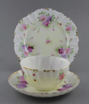 Cup, saucer and plate set; unknown maker; 1870-1890; MT1993.74.2