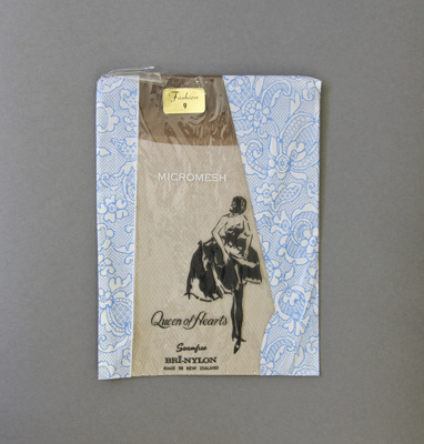 Stockings, Queen of Hearts; Holeproof Industries Limited; 1950-1960; MT2012.52.5