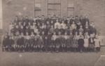 Postcard, [Mataura School, Senior Classes, 1916]; unknown photographer; 1916; MT2013.22.3